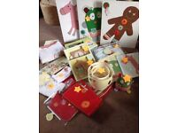 Mamas and Papas Gingerbread nursery set