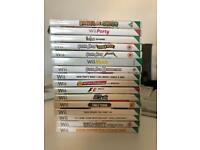 16 Nintendo Wii Games