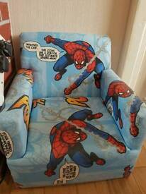 Spider man chair