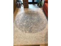 Grey high-pile Rug, 170x240 cm