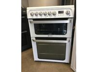 White Hotpoint Cooker