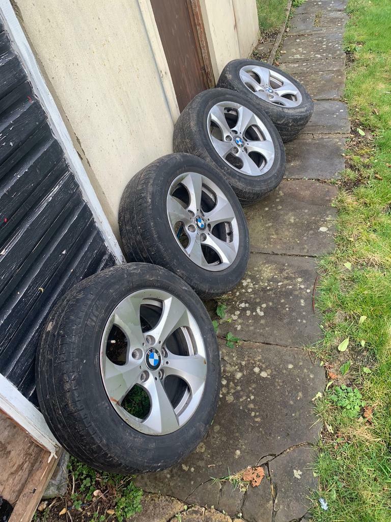 Bmw 1 Series Alloy Wheels In Pontllanfraith Caerphilly Gumtree