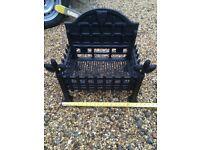 Log/ fire place basket cast iron