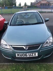 Vauxhall Corsa 06 plate for sale £750 ono