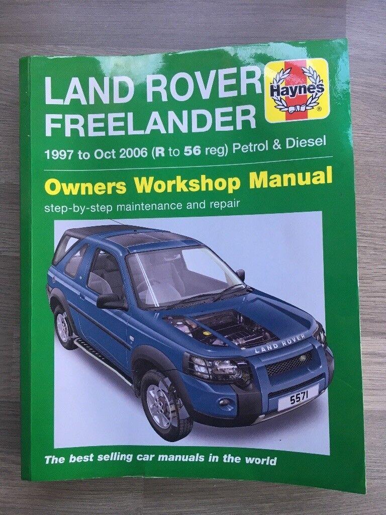 Land Rover freelander Haynes manual