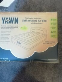 Yawn self inflating air bed for sale