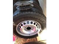 Sprinter wheels tyres