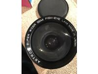 Astron super wider semi fish-eye lens