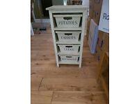 Free Standing 4 Drawer Vegetable Rack