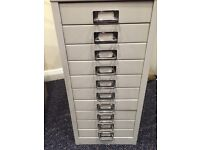 Two Drawer and Twelve Drawer Filing Cabinets