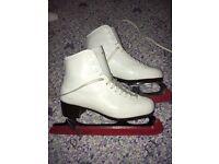 Belati John Wilson Ice Skating Boots UK size 4, age 10-12 girls skating outfit