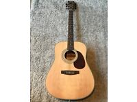 Acoustic guitar - Cort Earth 70 NS (out of stock on most websites!) WITH PADDED BAG AND TUNER
