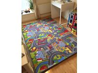 Kids Road Map Playmat Rug City