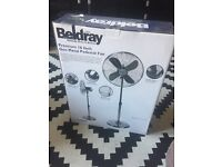 "Beldray 16"" pedestal Fan New"