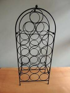 Wine Rack – 18 bottles – Freestanding – Black Wire Launceston Launceston Area Preview