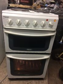 **HOTPOINT**ELECTRIC COOKER**50CM**GOOD CONDITION**COLLECTION\DELIVERY**NO OFFERS**MORE AVAILABLE**