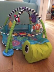 Baby gym /activity mate and ball pit