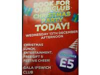 Customer Christmas Party Gala Bingo Ipswich