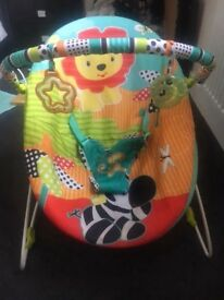 Bright starts unisex baby bouncer chair
