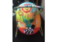 Bright starts unisex baby bouncer chair