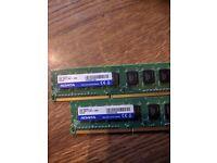 Adata (2x4gb) DDR3 1600mhz