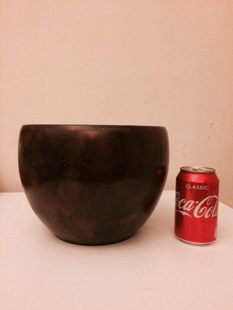 Brown medium plant pot - perfect condition