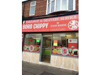 Fish & Chip shop lease for sale for £40k: Acklam Road, Middlesbrough, TS5 5HA