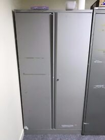 Large Essential Double Door Office Filling Storage Cupboard - 90W x 45D x 183H - RRP £220