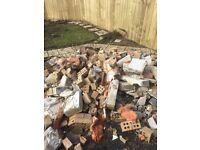 Used patio slabs and bricks