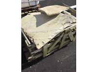 Pallet of broken slabs - £10