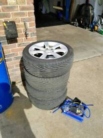 2007 wrx sti wheels with new toyo t1r tyres