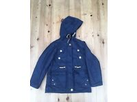 Girls Navy Coat from Next. Super Condition from a smoke free home. 8 Years