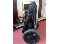 iCandy Peach Pushchair & Carrycot in Peacock