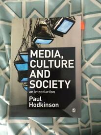 Media culture and society an introduction