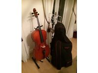 Kids Cello and Stand