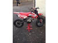 Wpb stomp 140 z40 big whee pit bike l mint