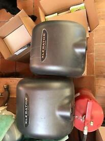 2 x Xlerator hand dryers in great condition