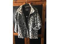 Ladies leopard print Next jacket, size 14