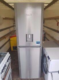 Beko Fridge Freezer (Stainless Steel) (6 Month Warranty)