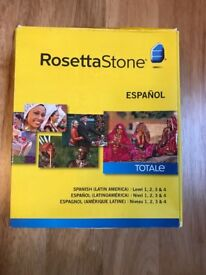 Rosetta Stone-Spanish (Latin America) Levels 1-4