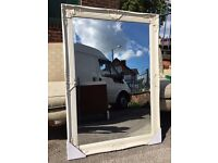 French / Ornate / Rococo Cream Mirror - NEW - High Quality - Large Mirror - Bevelle Edged - Reduced