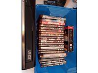 HUGE HD-DVD BUNDLE - 23 MOVIES MANY SEALED - PLUS TOSHIBA HD EP-30 HD-DVD PLAYER