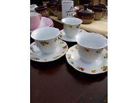 Cup and Saucer set - vintage floral design