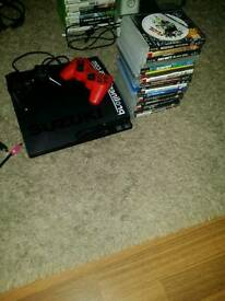 Ps3 slimline 19 games 2 controllers