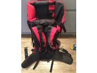 Baby carrier - back seat - £15.00