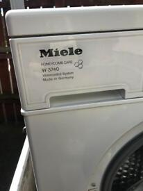 Washing Machie Miele For Parts or Repairing,Electonic Main Board Missing