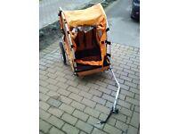Bike trailer for child/dog/shopping