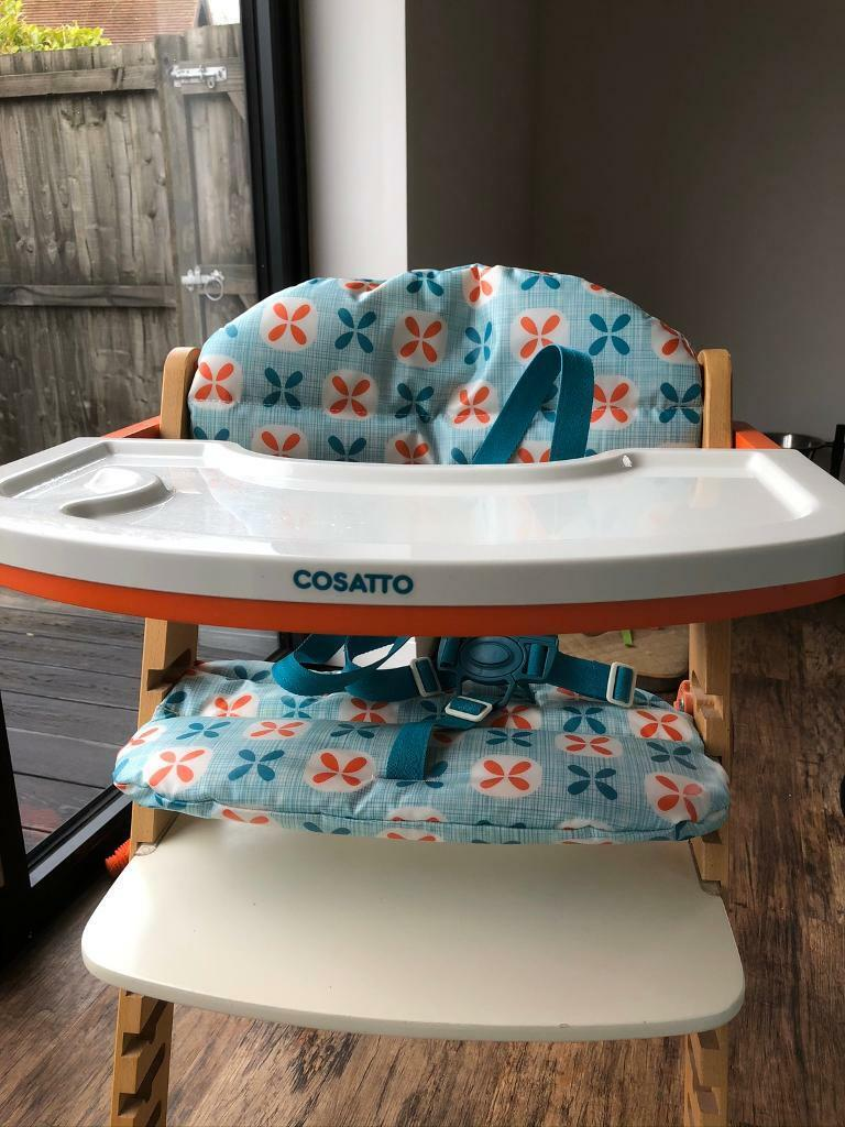 Cossato high chair for sale | in Wirral, Merseyside | Gumtree