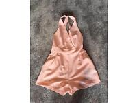 Brand new pink playsuit size 6-8