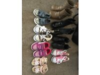 Girls shoes size toddler 5+6
